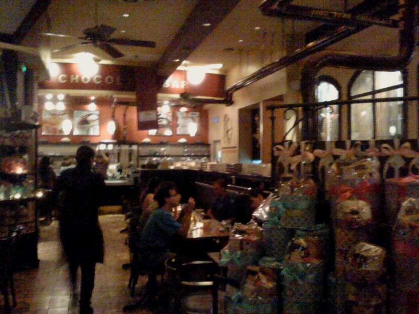 Max Brenner Store