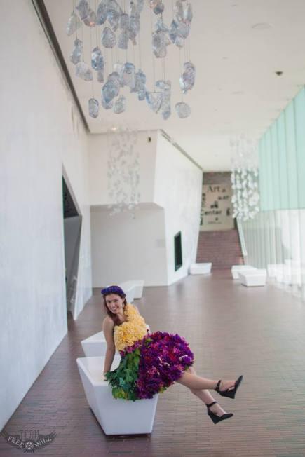 2015 Flower Dress